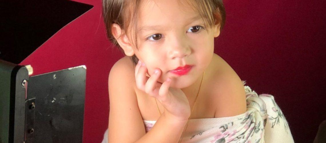 Michelle the little model